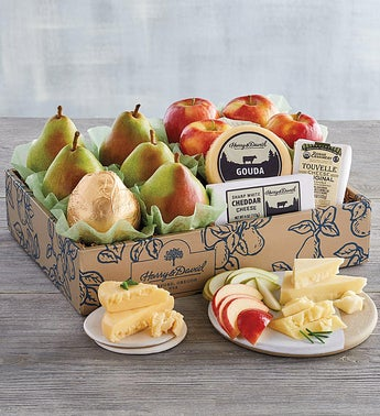 Harry  David Pears Apples  Cheese Gift
