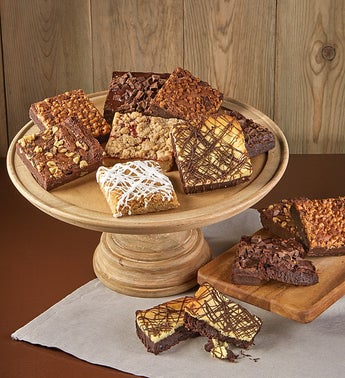 Bake Me A Wish Assorted Brownies