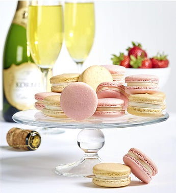 Danas Bakery Strawberry  Champagne Macarons
