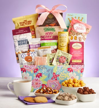 Mothers Day Delights Gift Basket