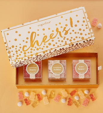 Sugarfina Cheers Candy Bento Box 3pc