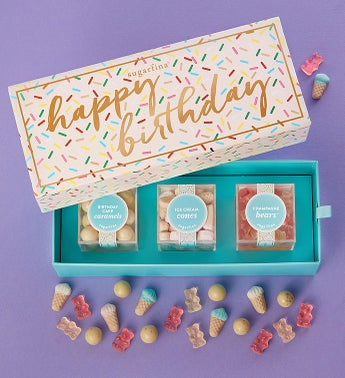 Sugarfina Happy Birthday Candy Bento Box