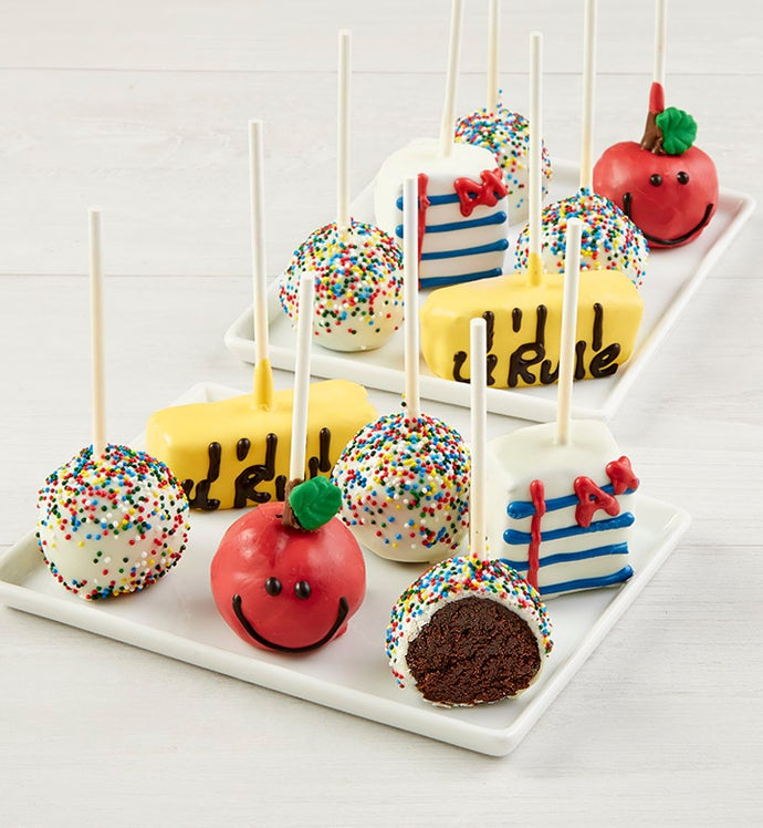 Back to School Cake Pops