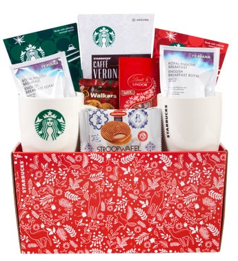 Starbucks Woodland Gift Basket
