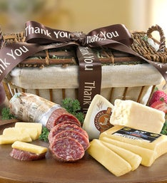 Thank You California-made Meat  Cheese Basket