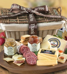 Thank You Epicurean Meat  Cheese Gift Basket