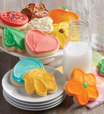 Buttercream Frosted Cut-out Cookie of the Month Pay-as-you-go Club  24 cookies
