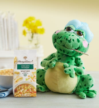 Animated Get Well Fever Frog