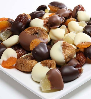 Chocolate Dipped Dried Fruit Assortment