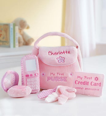 Personalized Gund Purse Playset