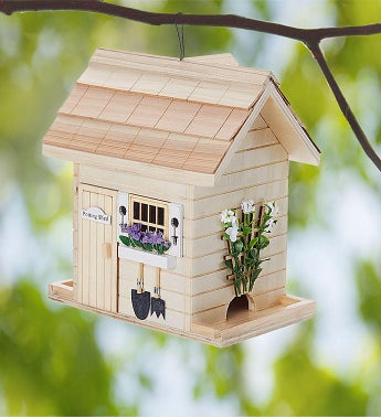 Potting Shed Birdfeeder