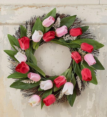 Spring Tulip Wreath-24