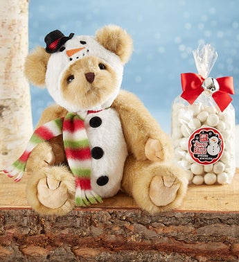 Bearington Frost E Bear with Candy