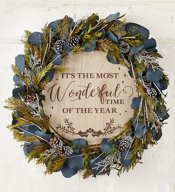 Its the Most Wonderful Time of the Year Wreath-18