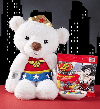 Gund Wonder Woman  Plush and Jelly Beans