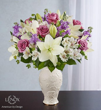 Loving Blooms Lenox Lavender  White