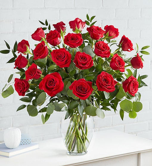 Heart's Desire™ Long Stem Red Roses