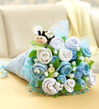 BaBEE Layette Bouquet  Blue or Pink