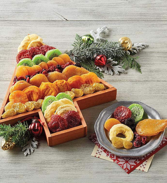 Dried Fruit Holiday Tree