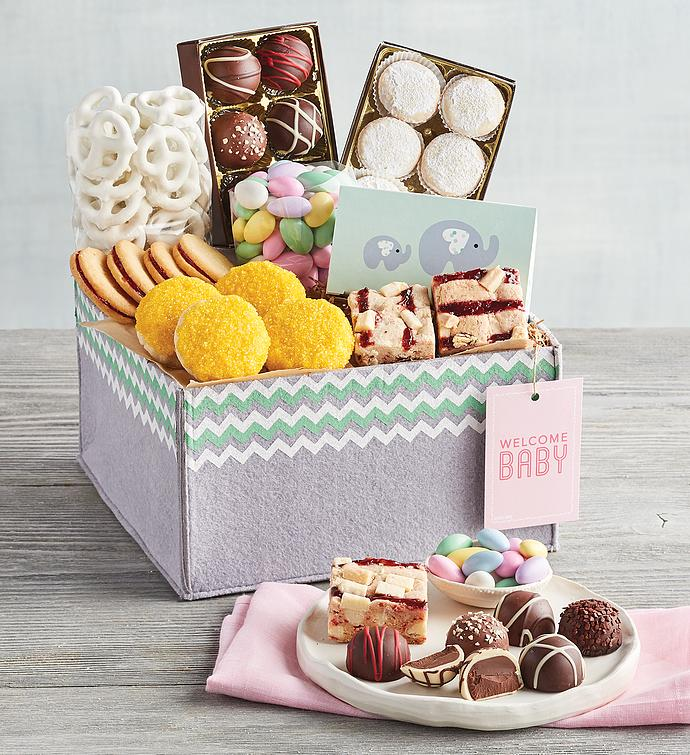 New Baby Girl Gift Basket