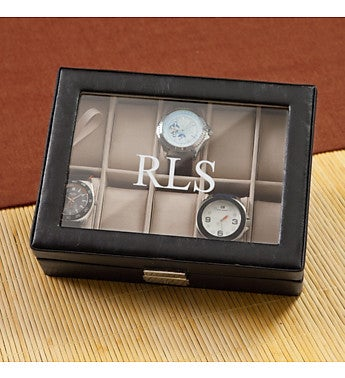 Personalized Mens Watch Box