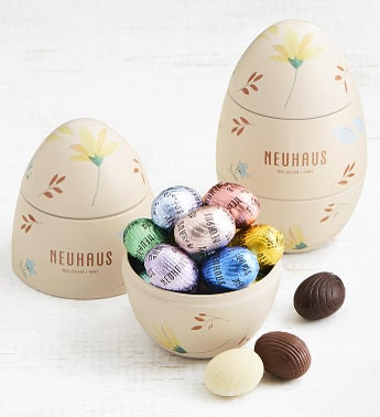 Neuhaus Easter Egg Shaped Tin