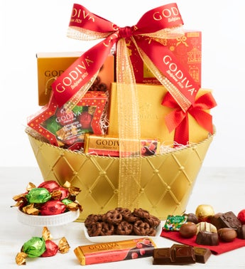 Exclusive 2019 Godiva Holiday Gift Basket