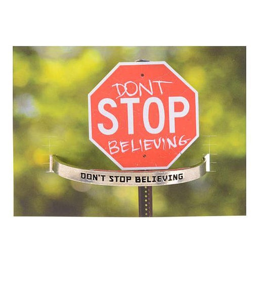 Quotable Cuff - Don't Stop Believing