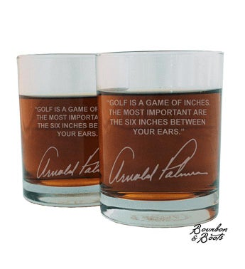 Sports Quotes Whiskey Glasses