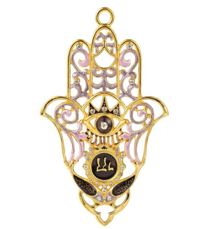 Hanging Hamsa with Evil Eye Wall decor Ornament