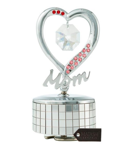 Mom Heart Wind-Up Music Box