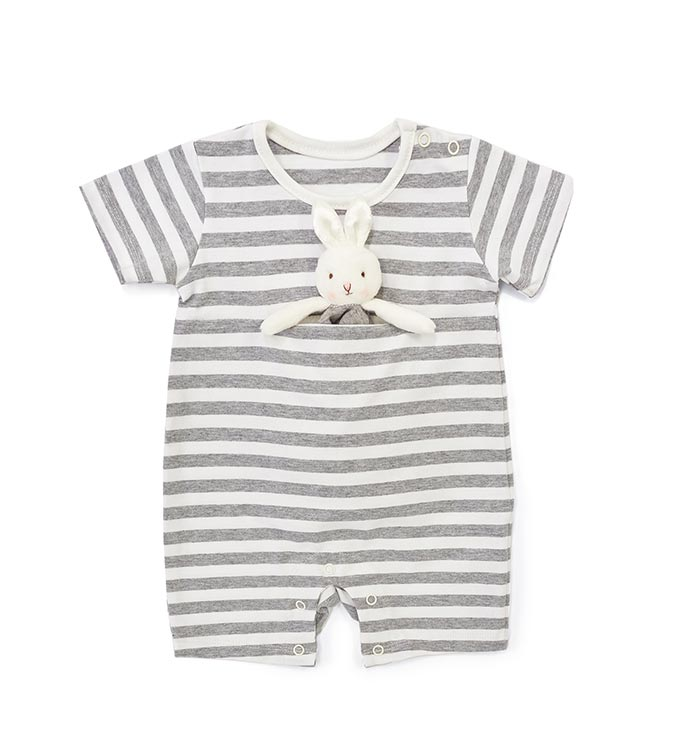 Blooms Romper with Binkie