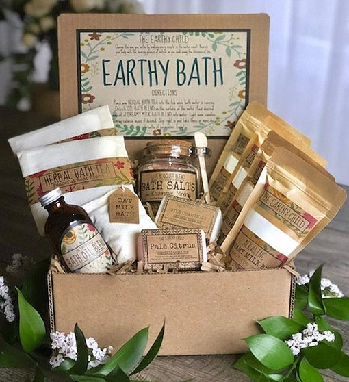Deluxe Earthy Bath Gift Set