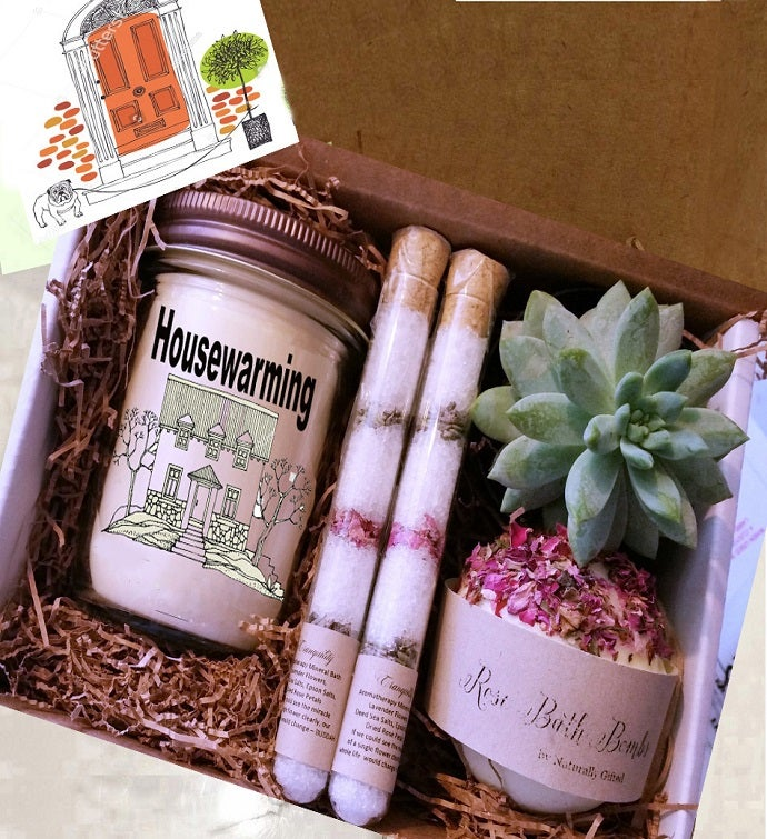Succulent  Spa Gift Box