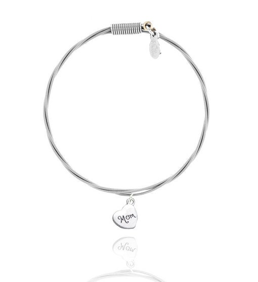 Strüng Guitar String Bracelet - Mom Heart -
