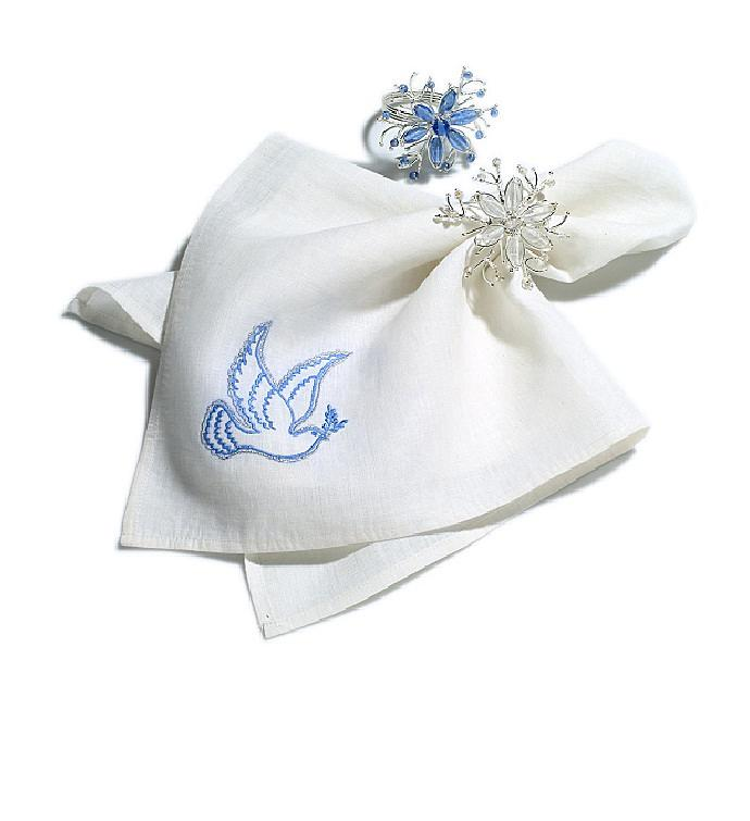 Dove Napkins- Set of Four