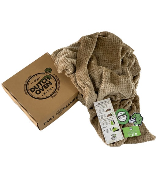 The Original Dutch Oven Kits Fart Blanket - Roadkill Tan