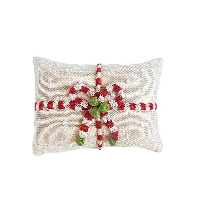 Gift Candy Stripe Pillow