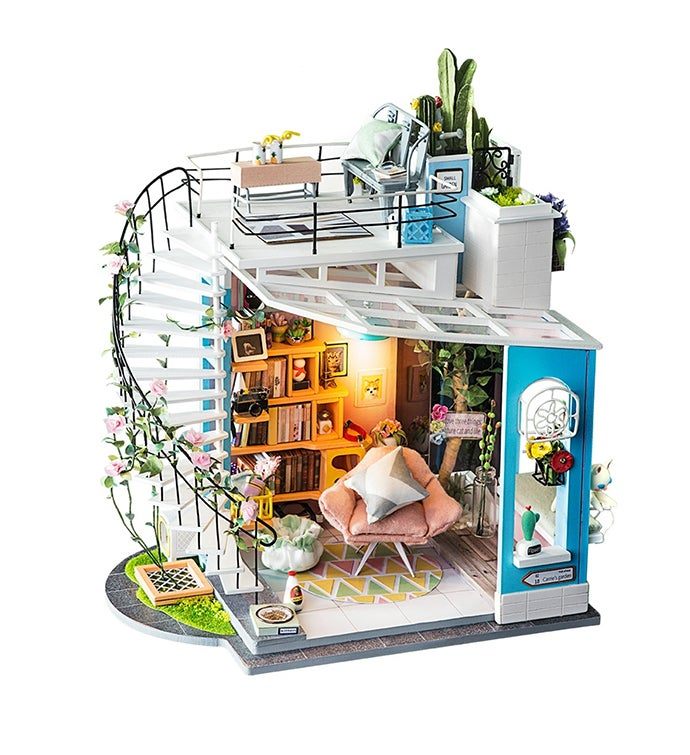 Diy 3d Dollhouse Kit - Dora39s Loft