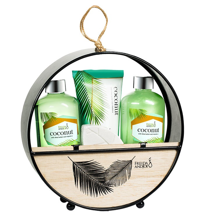 Coconut Spa Bath And Body Gift Set