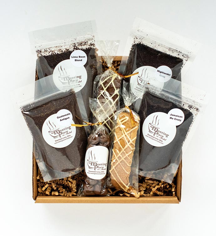 Coffee Sampler Gift Set - Flavored And Original Coffee