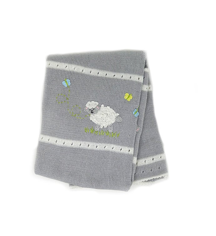 Baby Blanket With Sheep