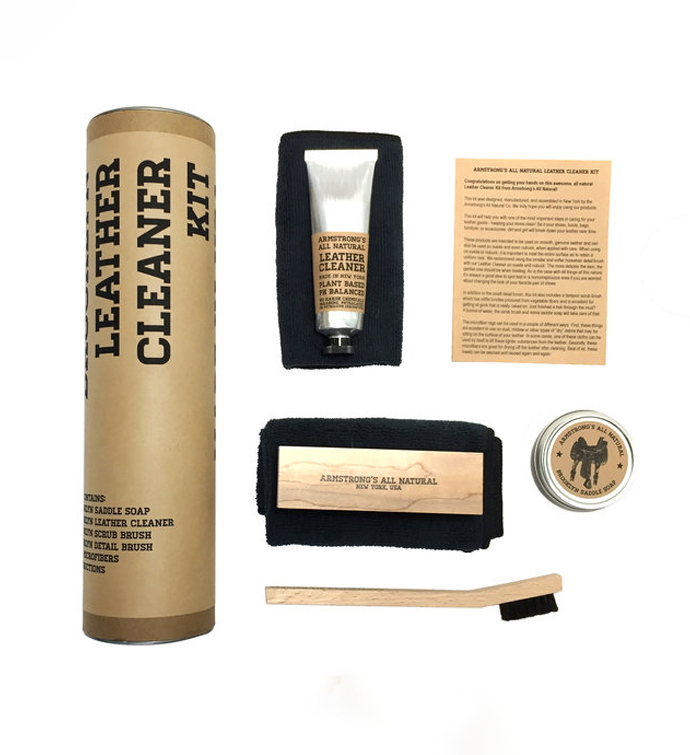 Tubular Leather Cleaner Kit
