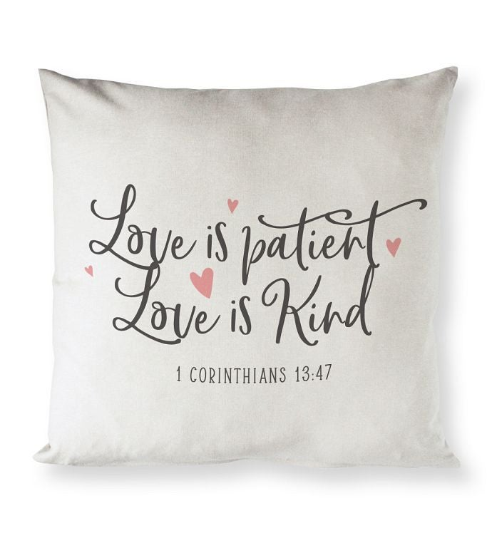 Bible Verse Pillow Cover