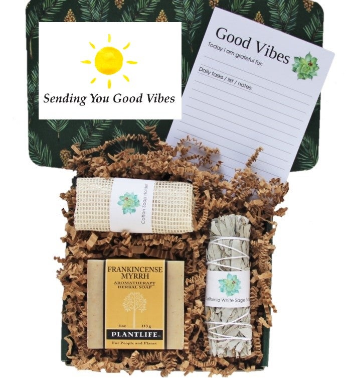 34Sending Good Vibes34 Men39s Gift Box
