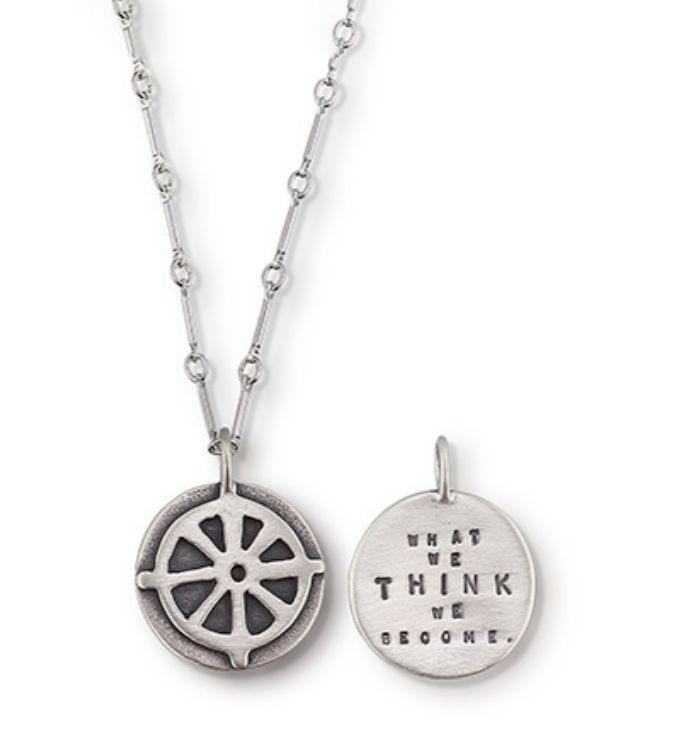 Buddhist Wheel Necklace