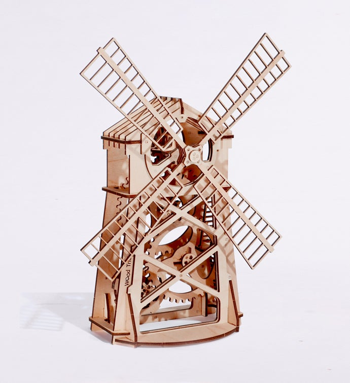 Mill Mechanical Puzzle