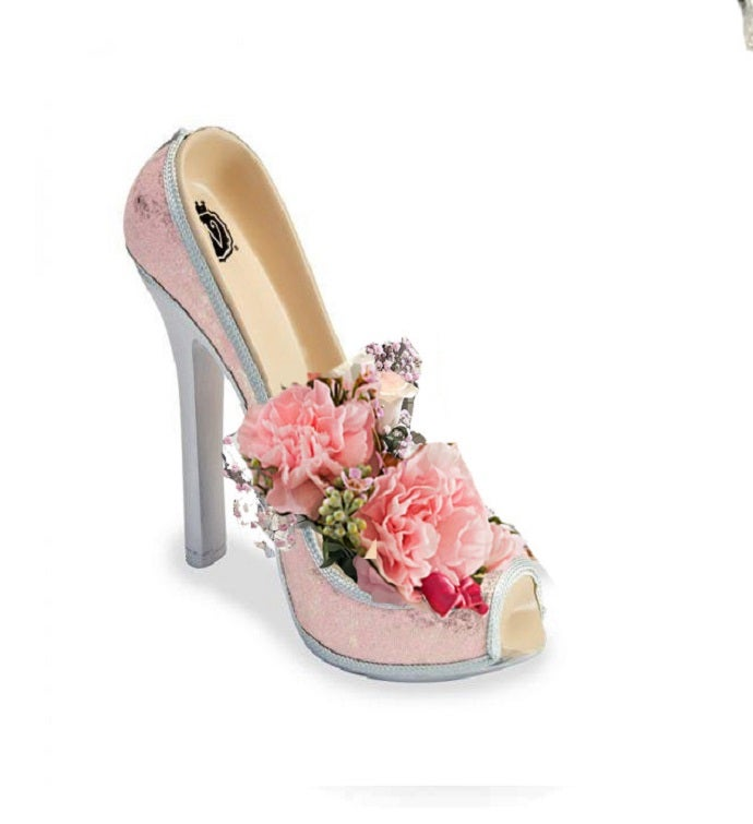 Soap Flower High Heel