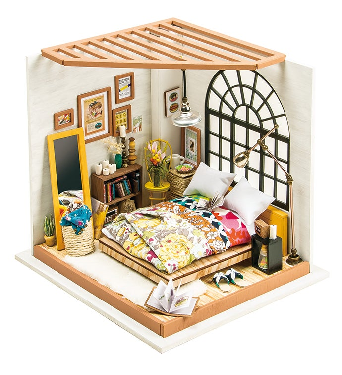 Alice39s Dreamy Bedroom DIY Miniature Dollhouse