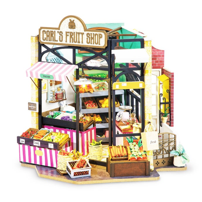 Carl39s Fruit Shop DIY Miniature Dollhouse